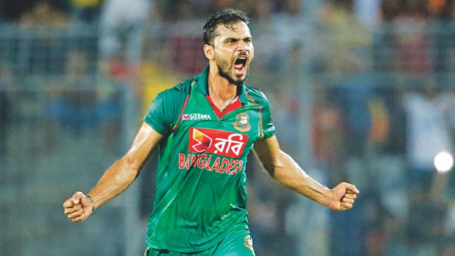 Mashrafe Mortaza Bangladesh Cricket World Cup Team 2019
